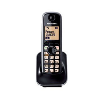 Panasonic KXTG-3721 - Black Cordless Phones : Cord