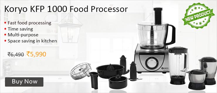 Koryo KFP 1000 Food Processor