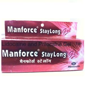 Lubricants, Sexual Supplements, Men Care, eHealthMart, Manforce, Manforce Stay Long Gel (5 Gm)