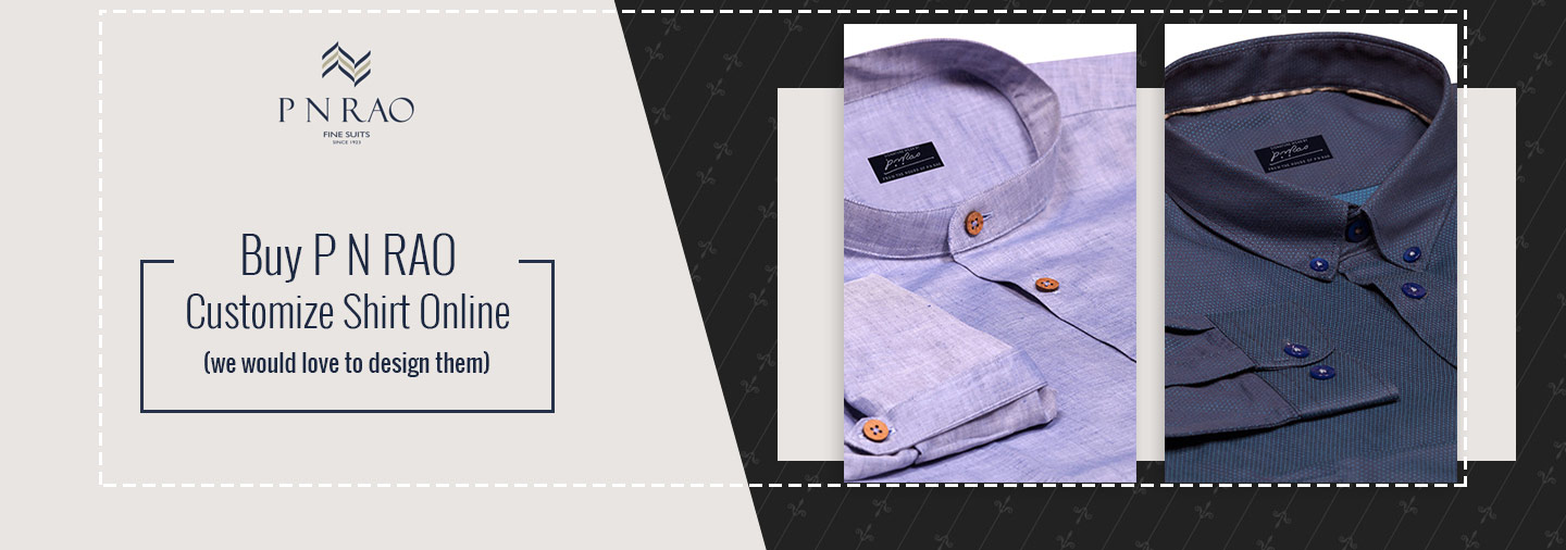 Buy customized shirts and suits online