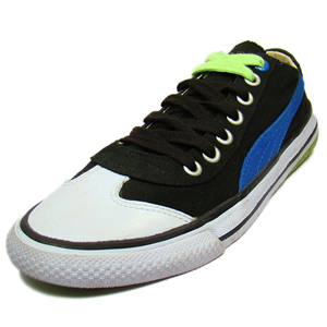 Canvas Shoes, Footwear, Puma, Puma 917 LO FUN PACK Convers shoes-Black/Green-IN91314902