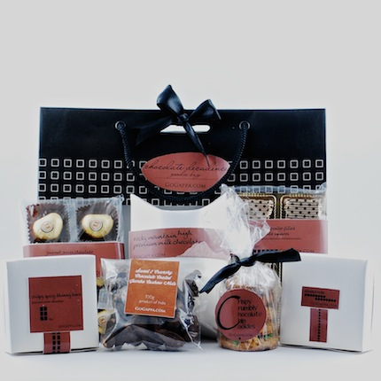 Hampers, GoGappa, Chocolate Decadence Goodie Bag