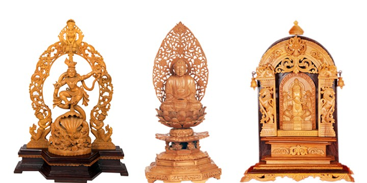 Sandalwood-Carvings