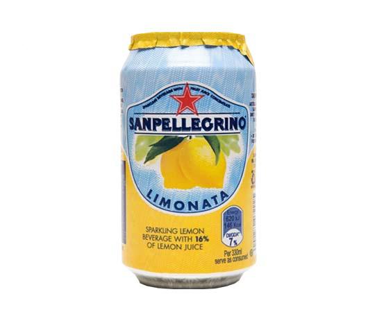 San Pellegrino Limonata Sparkling Juice Can 330 Ml