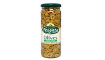 FRAGATA SLICED GREEN OLIVES - 450G