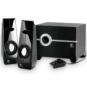 PC Speakers, PC, Main Products, Logitech, Logitech Speaker System Z103