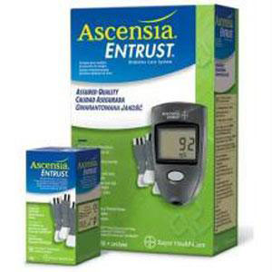 Ascensia Entrust Test Strips-25's