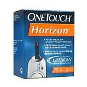 One Touch Horizon 25 Test Strip