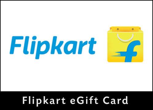 Instagifts, Flipkart E-Gift Card