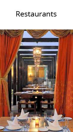zeba, restaurant decoration, design services