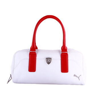 Popular NEW PUMA FERRARI WOMENS PREMIUM F1 TEAM SHOPPING TOTE LARGE BAG RED