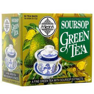 Green Tea, Tea Room, Mlesna, Mlesna Soursop Green Tea (100g)