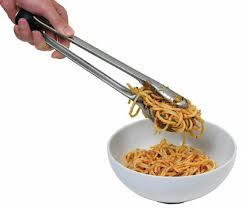 Food Preparation,ChefN,ChefN Ergosphere Pasta Tong - Arugula/Meringue