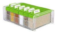 Food Preparation,EMSA,Emsa SPICE BOX Spice Organiser (Green Color)