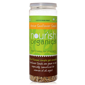 Seeds,Nourish Organics,Active Sunflower Seeds (150g)