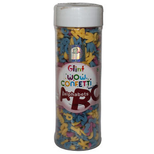 Sprinkles and Edible Shapes,Bakersville,Alphabet Confetti (100g)