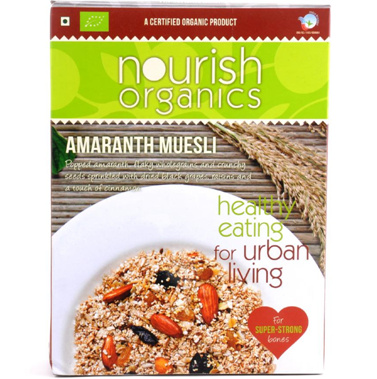 Breakfast,Nourish Organics,Amaranth Muesli (300gm)