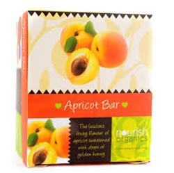 Snacks & Health Bars,Nourish Organics,Apricot Bar (30gm)