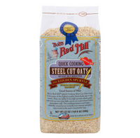 Breakfast,Bobs Red Mill,Quick Cooking Steel Cut Oats (623g)