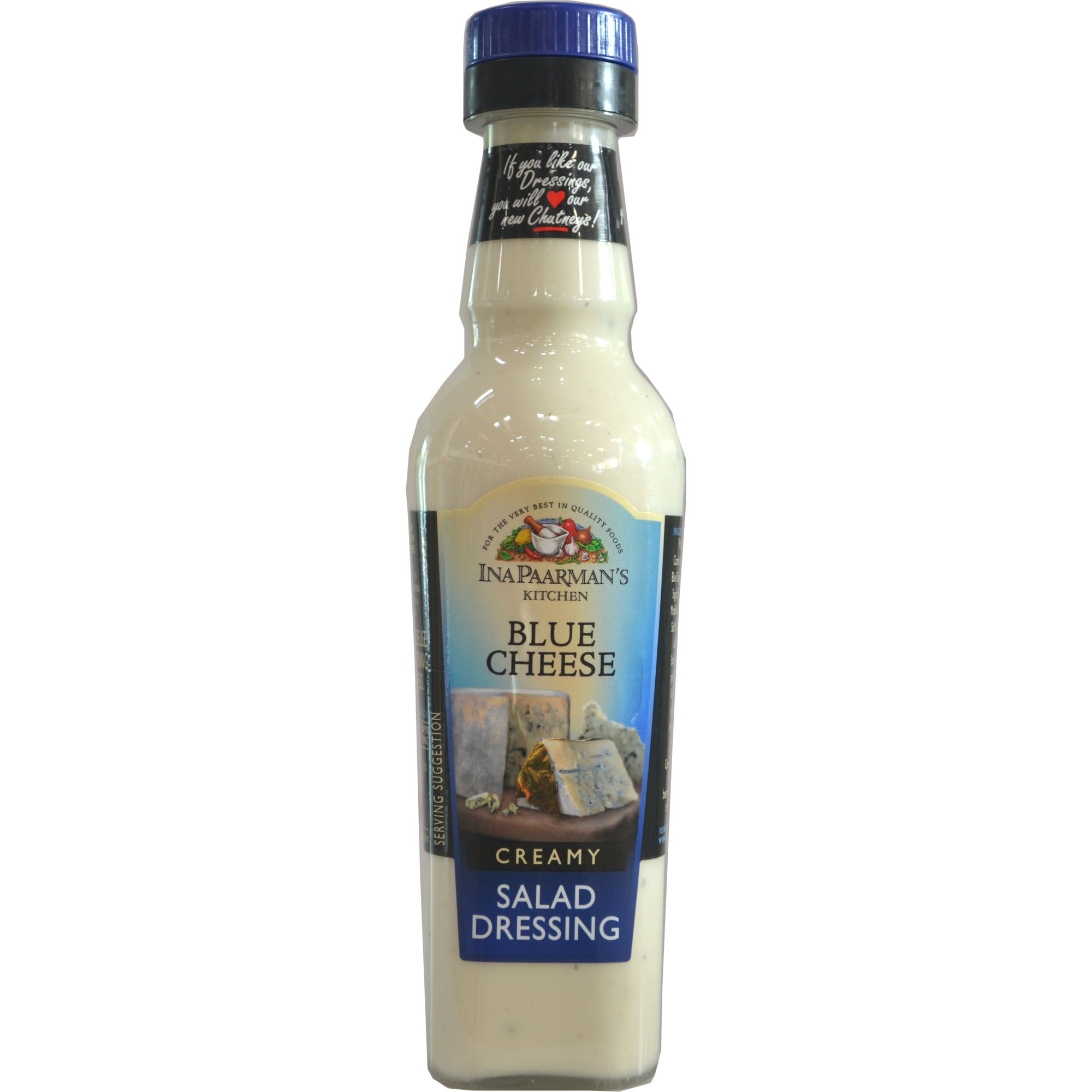 Salad Dressings,Ina Paarmans Kitchen,Ina Paarman Blue Cheese  Salad Dressing (300ml)