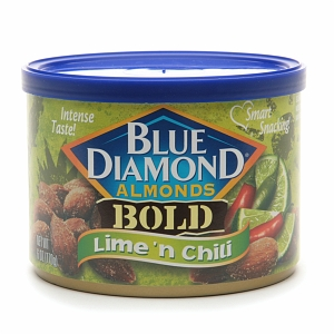 Dried Fruit & Nuts,Blue Diamond,Lime 'n Chili Almonds (170g)