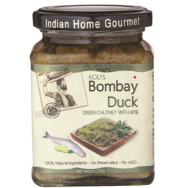 Savory & Sweet Sauces,Indian Home Gourmet,Bombay Duck Green Chutney (250g)