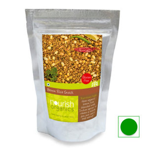 Snacks & Health Bars,Nourish Organics,Brown Rice Snack (200g)