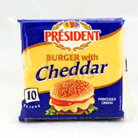 Cheese,President,Burger Cheese Slices (200g)