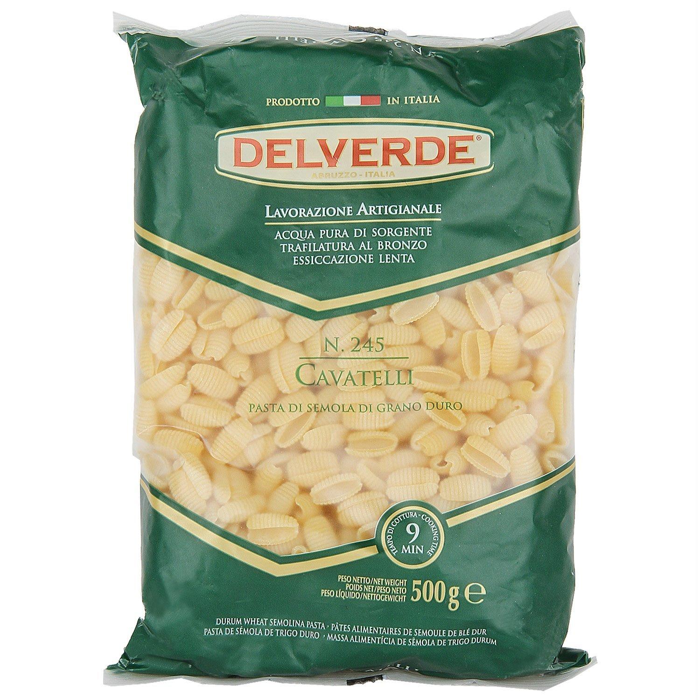 Pastas,Delverde,Delverde Cavatelli Pasta (500g)