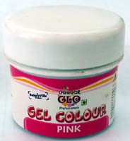 Edible Colors & Ink Pens,Bakersville,Colour Glow Pink Gel Colour (50g)