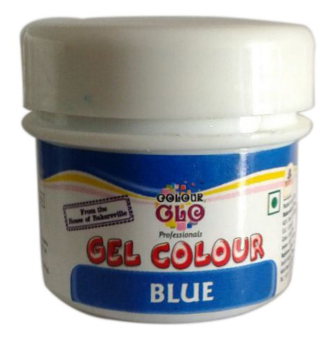 Edible Colors & Ink Pens,Bakersville,Gel Colour Blue (10gm)