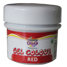 Edible Colors & Ink Pens,Bakersville,Colour Glow Red Gel Colour (10g)
