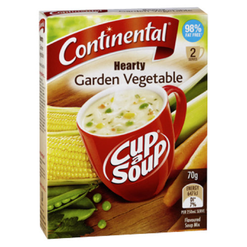 Soups & Instant Noodles,Continental,Cup a Soup Garden Vegetable Soup (2 servings) (70g)