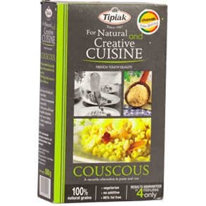 Health Flours and Grains,Tipiak,Couscous Natural (500g)