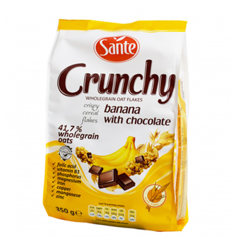 Crunchy Banana With Chocolate Cereal (350g) Small