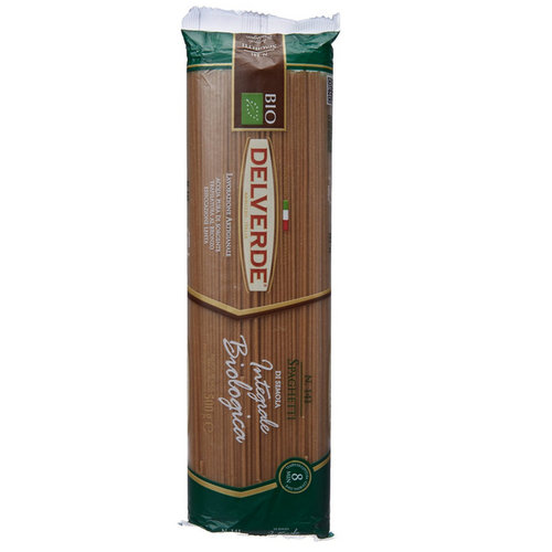 Pastas,Delverde,Delverde Whole Wheat Organic Spaghetti (500gm)