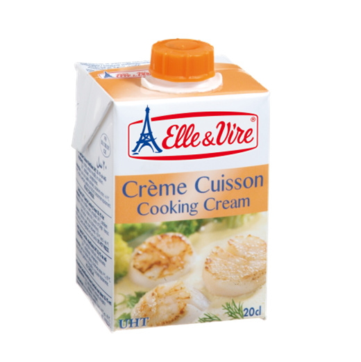 Elle & Vire Cooking Cream (20cl) / Small Image