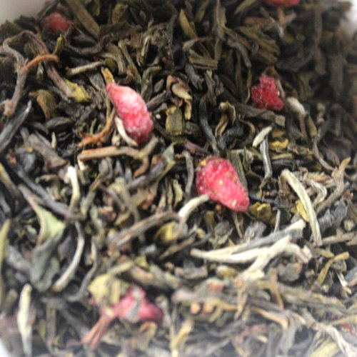 Speciality Tea,Exalte,Exalté Crimson Twist Pomegranate Green Tea (50g)