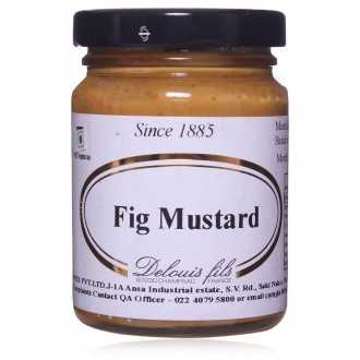 Mustards,Delouis Fils (France),Mustard with Figs (100g)