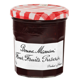 Jams And Preserves,Bonne Maman,Four Fruits Preserve (370g)