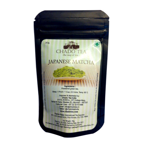 Speciality Tea,Chado,Japanese Matcha (Pouch) (30g)