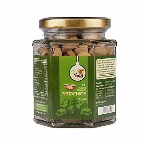Dried Fruit & Nuts,Go Nuts,Go Nuts Salted Roasted Pistachios (120g)