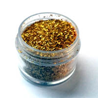 Sprinkles and Edible Shapes,Sprinkles N More,Gold Glitter (4g)