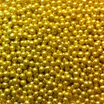 Sprinkles and Edible Shapes,Sprinkles N More,Sparkling Mini Gold Pearls (100g)