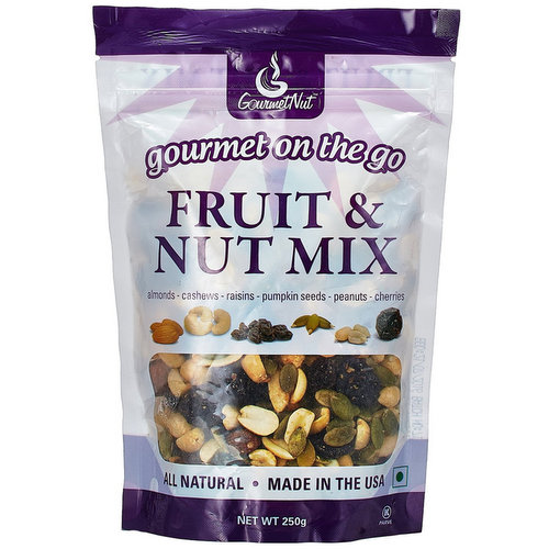 On-the-Go Snacks,Gourmet Nut,Gourmet Nuts Fruit and Nut Mix (250g)