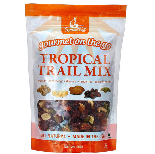 On-the-Go Snacks,Gourmet Nut,Gourmet Nuts Tropical Trail Mix (250g)
