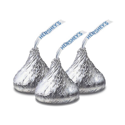 Chocolates,Hershey's, Hershey's Kisses Milk Chocolate (150g)
