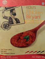 Spices & Seasonings,Indian Home Gourmet,Koli's Chicken Biryani Spice Paste  (100g)