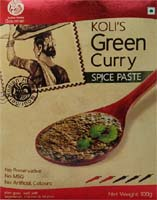 Spices & Seasonings,Indian Home Gourmet,Koli's Green Curry Spice Paste (100g)