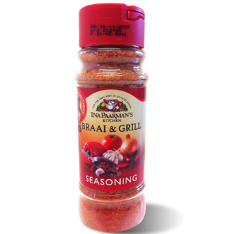 Herbs & Seasonings,Ina Paarmans Kitchen,Ina Paarmans Braai & Grill Seasoning (200ml)